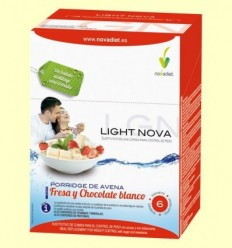 Light Nova Porridge de Maduixa - Sobrepès i Obesitat - Novadiet - 6 sobres