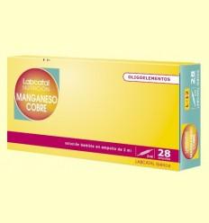 Labcatal 12 - Manganès Coure - Oligoelementos - 28 ampolles