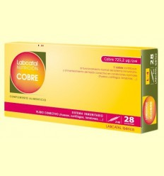Labcatal 4 - Coure - Oligoelementos - 28 ampolles