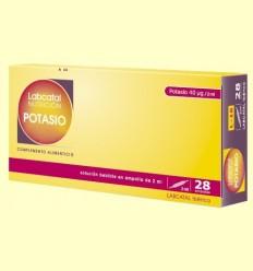Labcatal 16 - Potassi - Oligoelementos - 28 ampolles