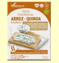 Torrades Arròs i Quinoa Integral Bio - Soria Natural - 132 grams