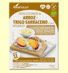 Torrades Arròs i Blat Sarraí Bio - Soria Natural - 132 grams