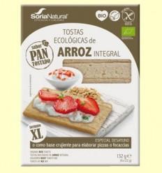 Torrades Arròs Integral Bio - Soria Natural - 132 grams