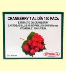Cranberry 1 a el Dia 150 PACs - Integralia - 30 càpsules