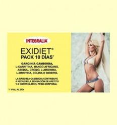 Exidiet 10 dies - Control de pes - Integralia - 10 vials