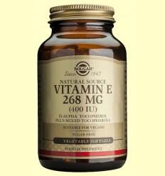Vitamina E 268 mg - Solgar - 50 càpsules vegetals