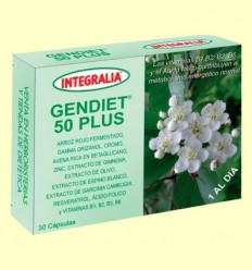 Gendiet 50 Plus - Integralia - 30 càpsules