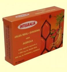 Gelea Reial amb Ginseng i Atzerola - Integralia - 45 càpsules