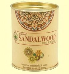 Cons de Encens Sandalwood - Goloka - 18 cons