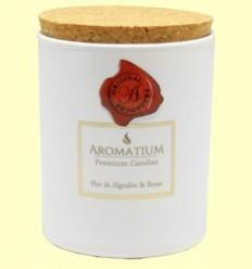 Vela Perfumada Flor de Cotó i Roses - Aromalia - 1 unitat