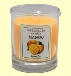 Vela Aromàtica de Mango a Got de Vidre - Aromalia - 1 unitat