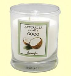 Vela Aromàtica de Coco en Got de Vidre - Aromalia - 1 unitat