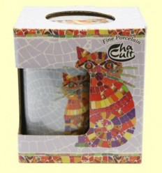 Tassa Infusora Tisanera de Porcellana Ted - Cha Cult - 250 ml
