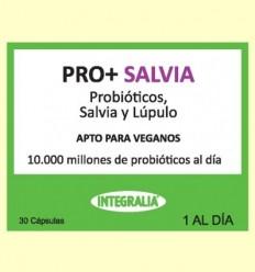 Pro + Salvia - Probiòtics - Integralia - 30 càpsules