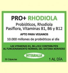 Pro + amb Rhodiola - Probiòtics - Integralia - 30 càpsules