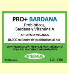Pro + amb Bardana - Probiòtics - Integralia - 30 càpsules