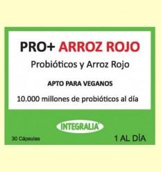 Pro + amb Arròs Vermell - Probiòtics - Integralia - 30 càpsules