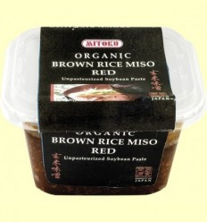 Miso Vermell d'Arròs Integral - Mitoku - 300 grams