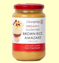 Amasake d'Arròs Integral - Clearspring - 380 grams