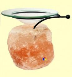 Difusor de aromes i olis essencials amb base de Sal de l'Himàlaia