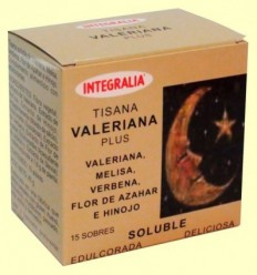 Valeriana Plus Soluble - Integralia - 15 sobres