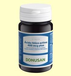 Àcid Fòlic Actiu 400 mcg Plus - Bonusan - 90 pastilles