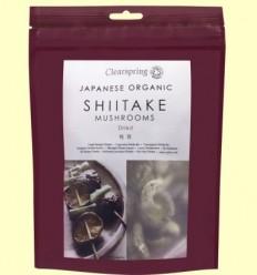 Fongs Shiitake Japonesos orgànics - Clearspring - 40 grams