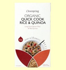 Quick Cook Arròs i Quinoa - Clearspring - 250 grams