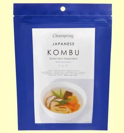 Kombu - Vegetals de Mar - Clearspring - 50 grams