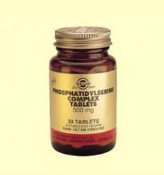 Fosfatidilserina Serina Complex 500 mg - Solgar - 30 comprimits