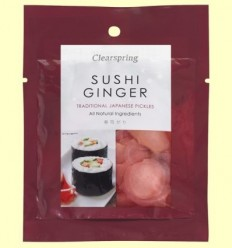 Gingebre de Sushi Japonès - Clearspring - 50 grams