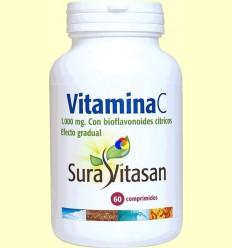 Vitamina C 1000 mg efecte gradual - Sura Vitasan - 60 comprimits