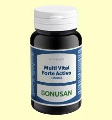 Multi Vital Forte Actiu - Bonusan - 60 pastilles