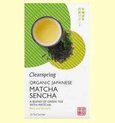 Te Matcha Sencha - Clearspring - 20 filtres