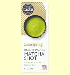 Te Verd Matcha Shot - Clearspring - 8 filtres