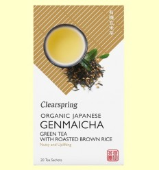 te Genmaicha - Clearspring - 20 filtres