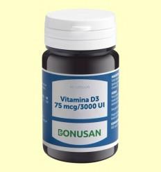 Vitamina D3 75mcg 3000 UI - Bonusan - 60 càpsules