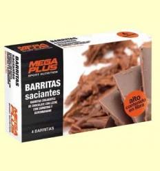 Barretes saciants Xocolata amb Llet - Mega Plus - 4 barretes