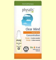 Clear Mind Bio Roll On - Physalis - 10 ml