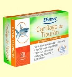 Cartílag de Tauró - Dietisa - 48 comprimits