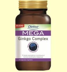 Mega Ginkgo Complex - Dietisa - 60 càpsules