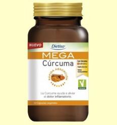 mega Cúrcuma - Dietisa - 50 càpsules