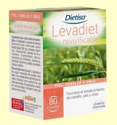 Levadiet Revivificable - Dietisa - 80 càpsules