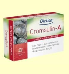 Cromsulín A - Dietisa - 48 comprimits