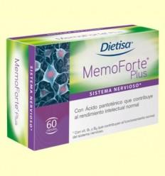 MemoForte Plus - Dietisa - 60 càpsules