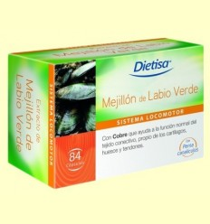 Musclo de Llavi Verd - Dietisa - 84 càpsules