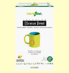 Infusió Herbodiet Eficàcia Renal - Novadiet - 20 bossetes filtre