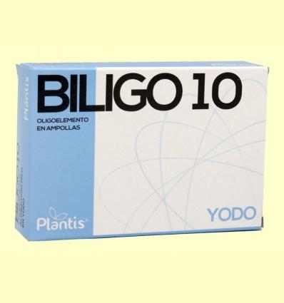 Biligo 10 Iode - Plantis - 20 ampolles