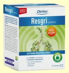 Resgri Sobres - Dietisa - 12 sobres