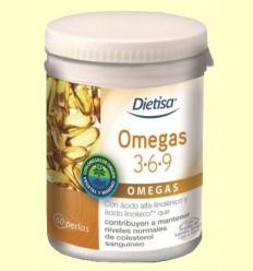 Omegues 3-6-9 - Dietisa - 60 perles